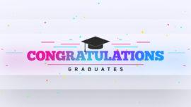 Colorful Graduation Title