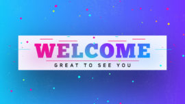 Colorful Graduation Welcome