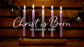 Country Advent Christ is Born