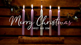 Country Advent Merry Christmas