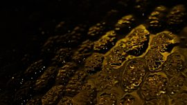 Glass Surface Amber Texture