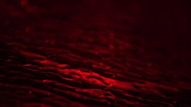Glass Surface Red Waves