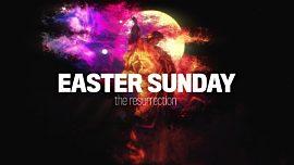 Holy Week Art Easter Sunday
