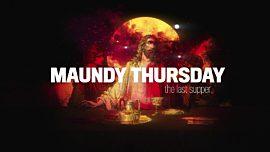 Holy Week Art Maundy Thursday