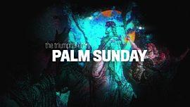 Holy Week Art Palm Sunday