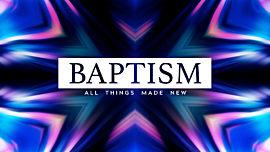 Indigo Baptism