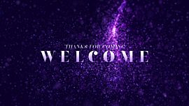 New Year Glitter Welcome
