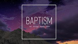 Night Sky Baptism