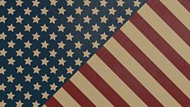 Old Fashioned America Stars & Stripes Loop