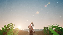 Palm Sunday Jerusalem Jesus