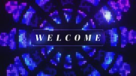 Pixel Glass Welcome