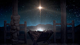 Starry Night Nativity 7