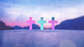 Watercolor Cross Lake Remix