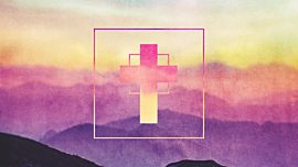 Watercolor Cross Mountains Remix
