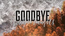 Colorful Fall Goodbye