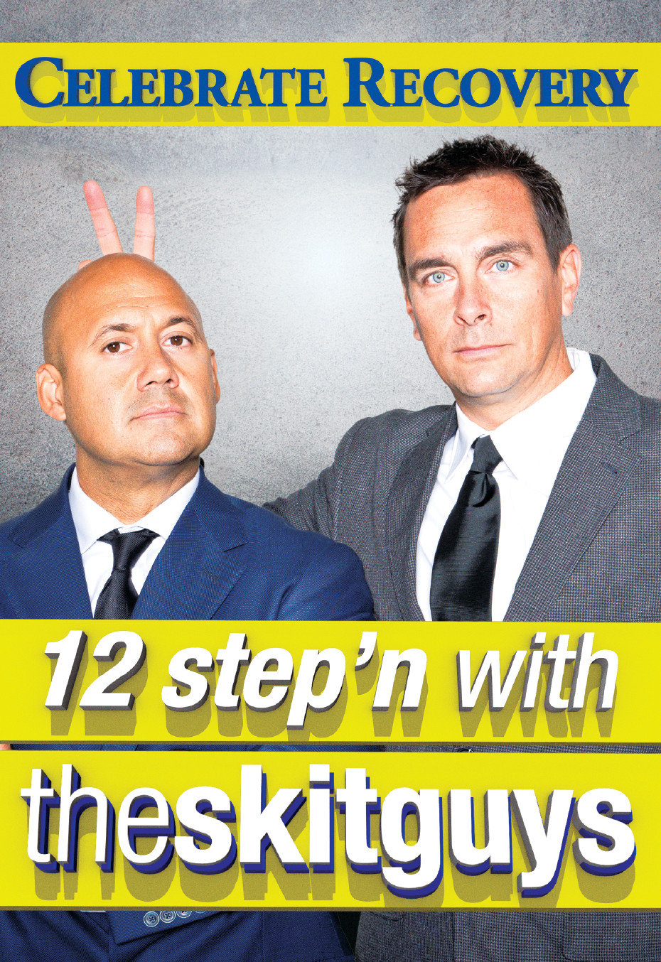 12 Step'n with the Skit Guys - DVD + Digital Combo DVD Image