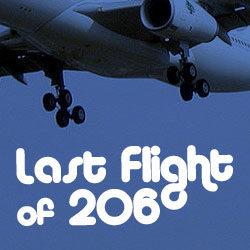 Last Flight of 206