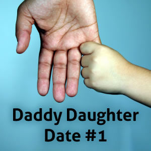Daddy Daughter Date #1