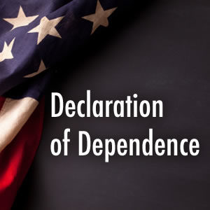 Declaration of Dependence