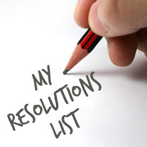 My Resolutions List