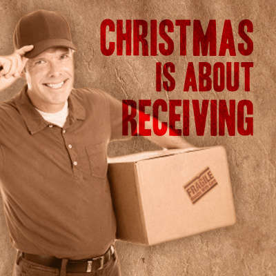 Christmas is About Receiving