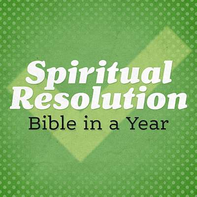 Spiritual Resolution: Bible in a Year