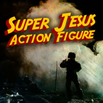 Super Jesus Action Figure