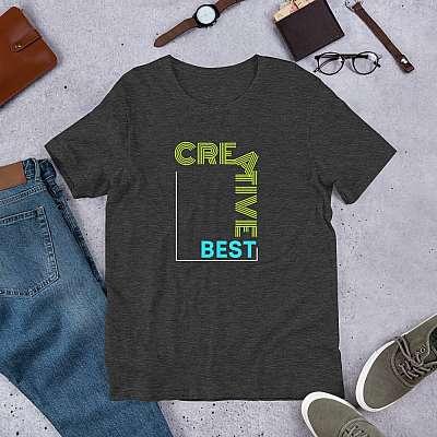 Creative Best Short-Sleeve Unisex T-Shirt
