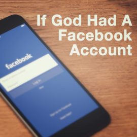 If God Had A Facebook Account