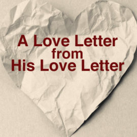 A Love Letter from His Love Letter thumbnail