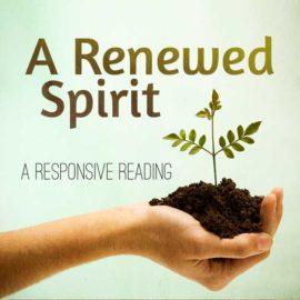 A Renewed Spirit