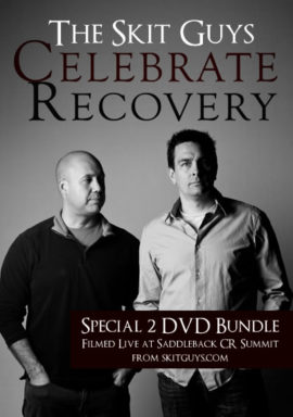 The Skit Guys Celebrate Recovery - 2 Disc Bundle