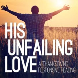 His Unfailing Love