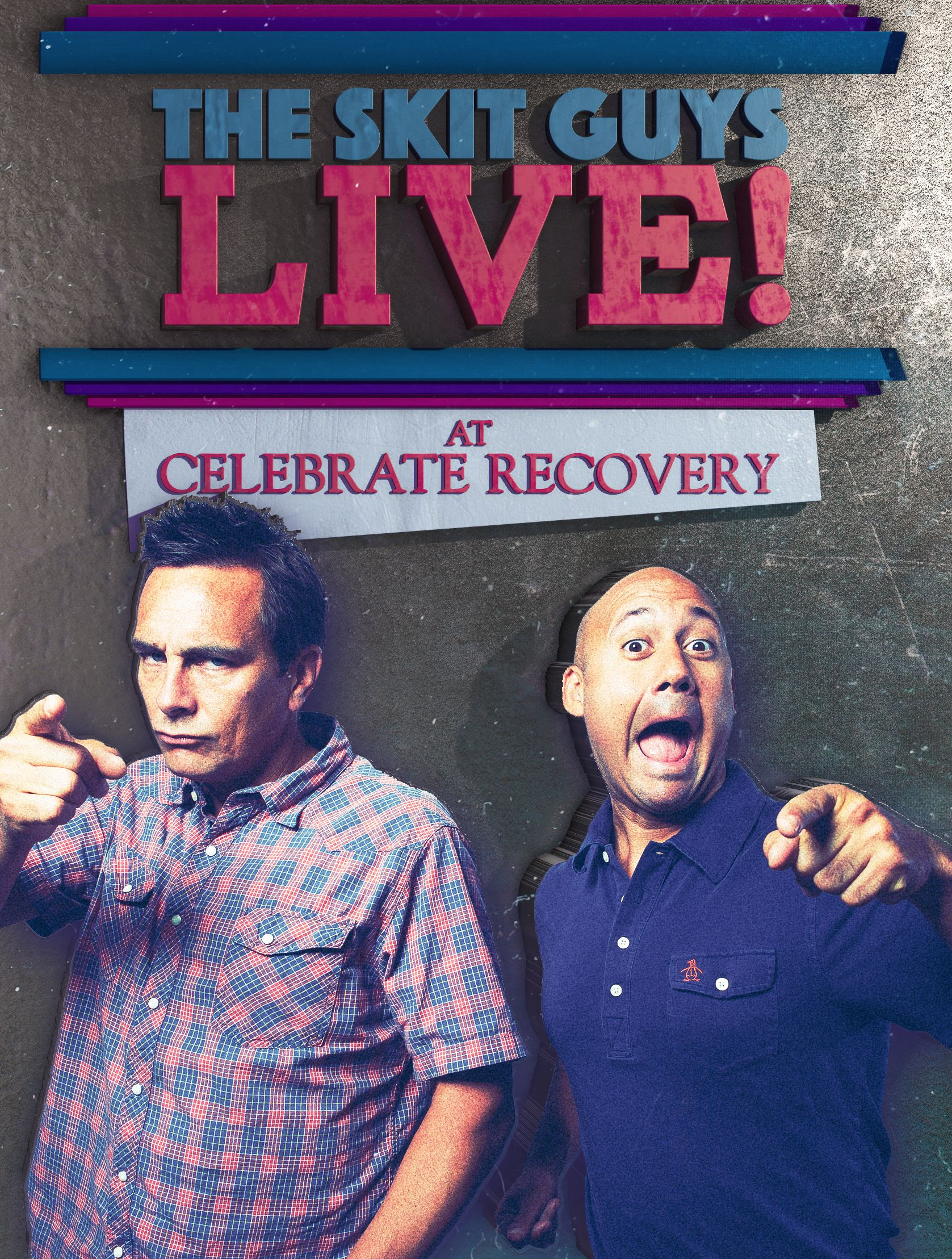 The Skit Guys Live! At Celebrate Recovery DVD Image