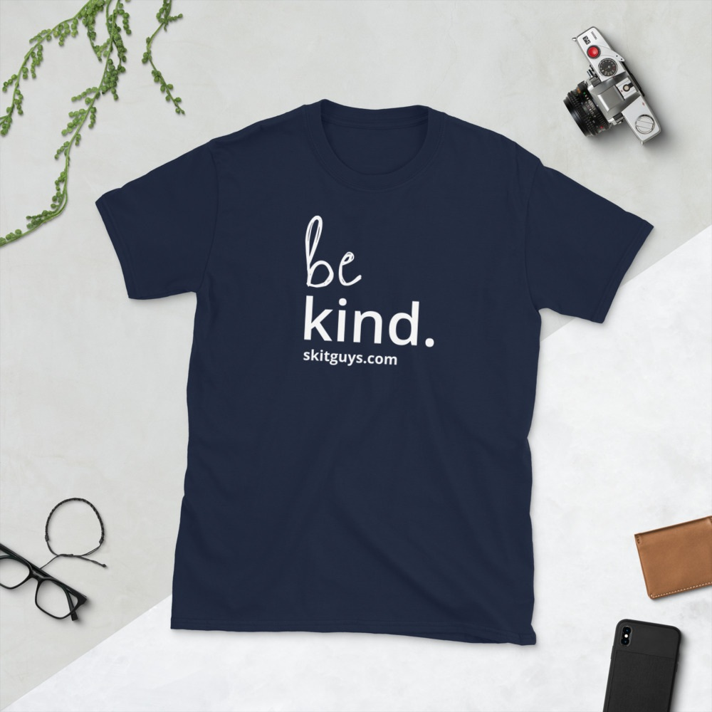 Be Kind Short-Sleeved Unisex T-Shirt