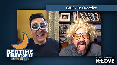 Bedtime Bible Stories S3E6: Be Creative