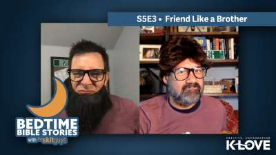 Bedtime Bible Stories: Friend Like a Brother