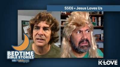 Bedtime Bible Stories: Jesus Loves Us