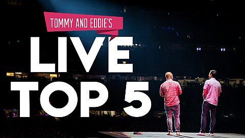 Tommy & Eddie's Live Top 5