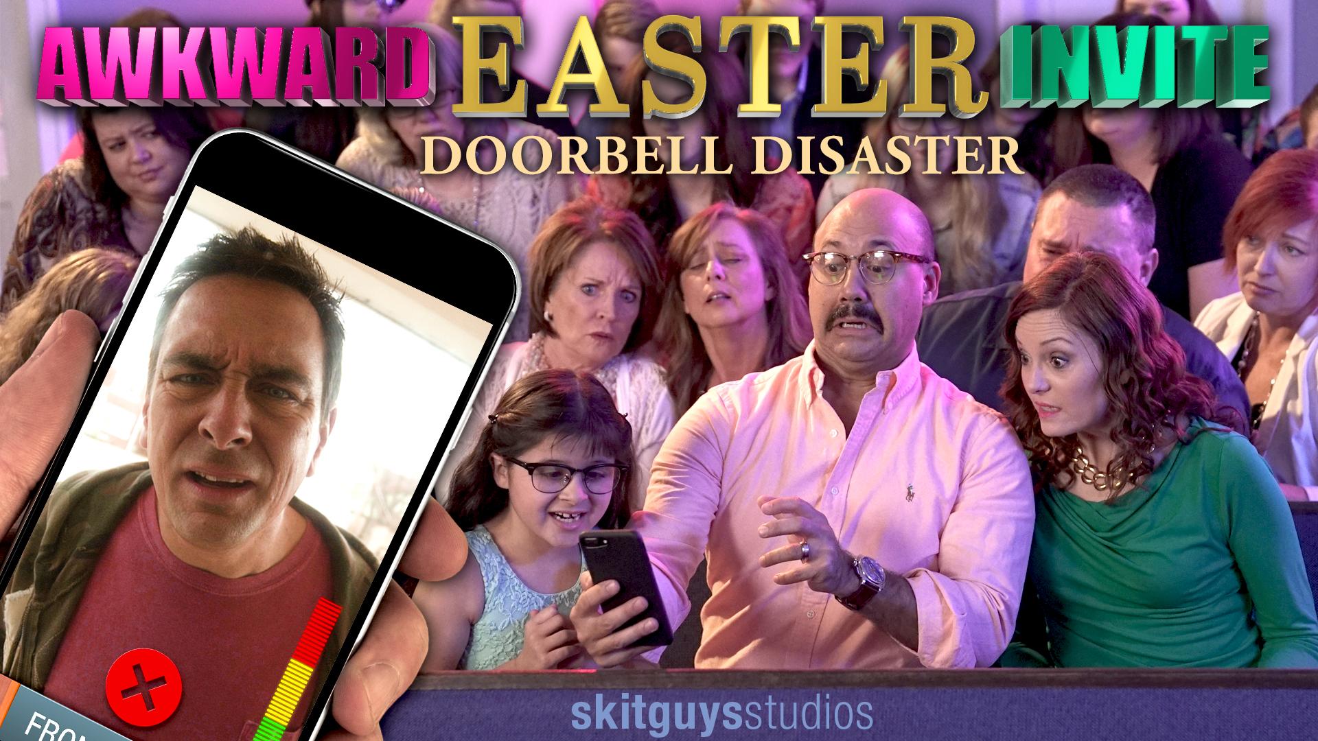Awkward Easter Invite: Doorbell Disaster