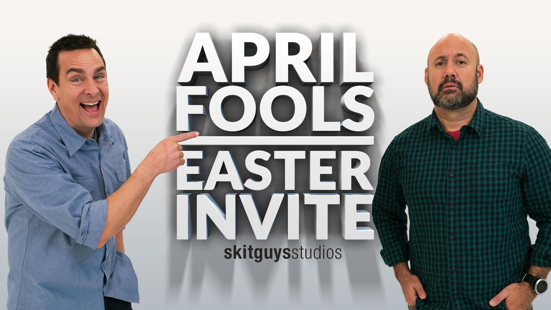 April Fool's Easter Invite