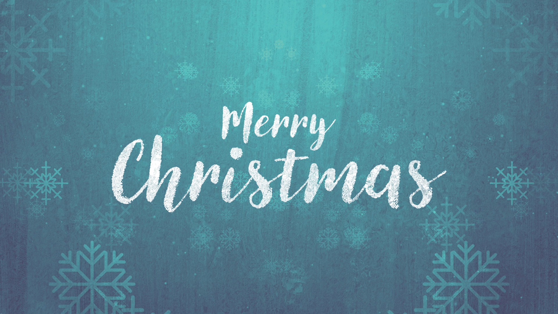 Rustic Winter Snow Merry Christmas Motion Background