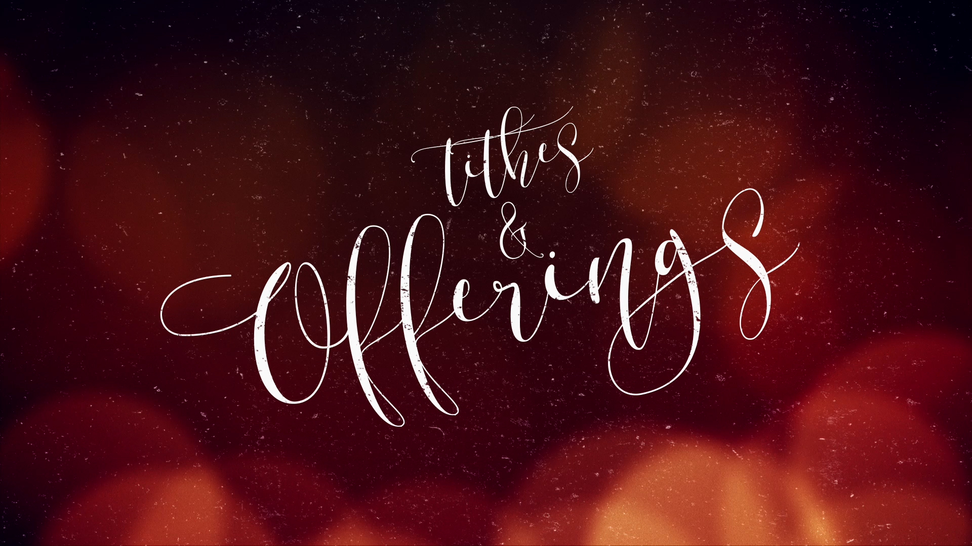 christmas tithes and offerings slides