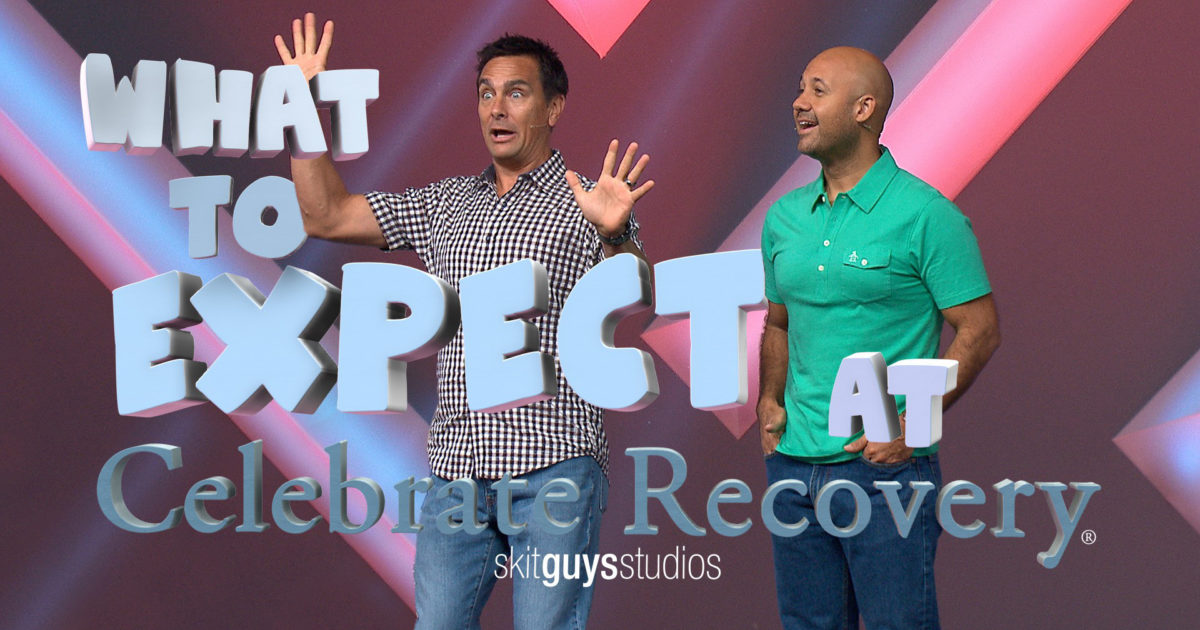 What To Expect At Celebrate Recovery Video The Skit Guys