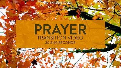 Fall Transition Pack: Prayer