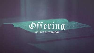Reformation Offering
