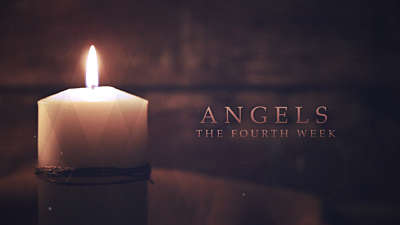 Advent Candles Angels