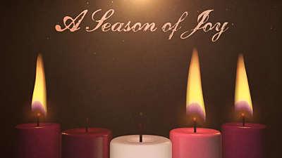 Advent Candles Joy