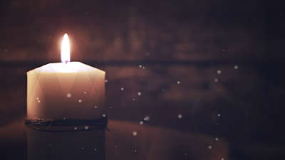 Advent Candles Single