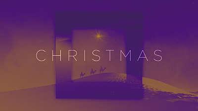 Amber Christmas Title